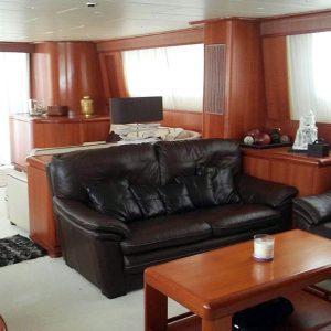 Falcon 102 Motor Yacht Charter Puerto Banus