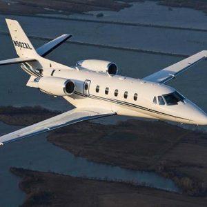 Citation XL private jet