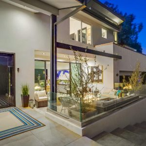 Modern View In The Hills