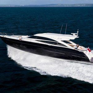 Princess V72 Motor Yacht Charter Puerto Banus