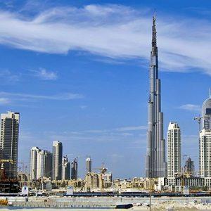 See Dubai's Famed Cityscape at Burj Khalifa