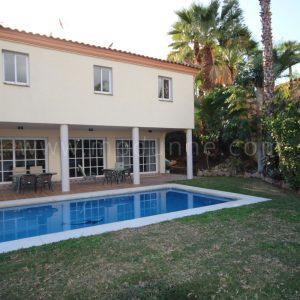 Recently renovated Nueva Andalucia Villa with seven bedrooms ( two villas on one plot)